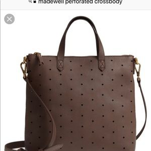 Madewell perforated Crossbody bag